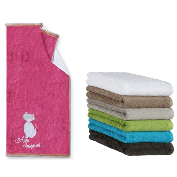 Oyatextile: promotional towels manufactured in Turkey