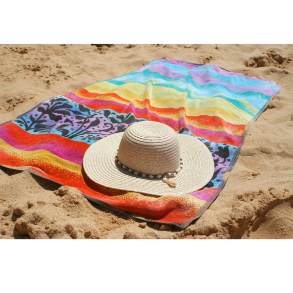 Oyatextile: beach and pool towels manufactured in Turkey