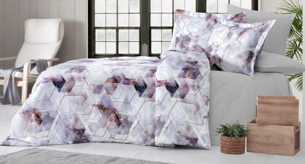 Printed Satin Bed Linen