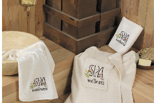SPA towel wrap