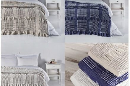 Waffle Bed Spread